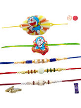 Siddhi Sales Rakhi Set Of 05 For Rakshabandhan, On...