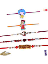 Siddhi Sales Rakhi Online - Set Of 5 Rakhis, Only ...