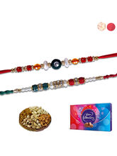 Siddhi Sales Rakhi And Chocolate Gift Hamper Set