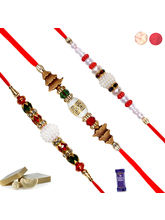 Siddhi Sales Rakhi For Rakshabandhan Set Of 3, Onl...