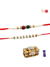Siddhi Sales Rakhi And Chocolate - Set Of 02 Rakhi...