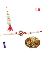 Siddhi Sales Buy Bhaiya Bhabhi Rakhi Set With Dryf...