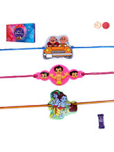 Siddhi Sales Set Of 03 Kids Rakhi With Chocolate, ...