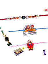 Siddhi Sales Family Rakhi Gift Set With Chocolate