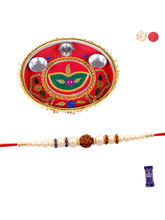 Siddhi Sales Rakhi With Thali, Rakhi With Thali