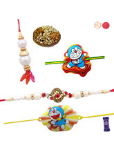 Siddhi Sales Rakhi Set For Family With Mix Dryfrui...
