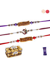Siddhi Sales Rakhi Gift With 3 Rakhi And Chocolate...