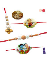 Siddhi Sales Rakhi Gift For Family With Dryfruits,...