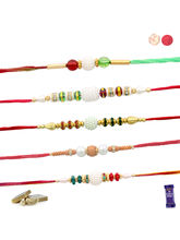 Siddhi Sales Set Of 05 Rakhi For Rakshabandhan, On...