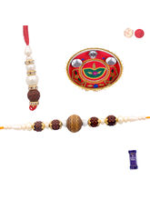Siddhi Sales Rakhi With Thali For Bhaiya Bhabhi, R...