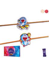 Siddhi Sales Rakhi Combo Set With Chocolate
