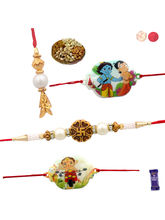 Siddhi Sales Buy Family Rakhi Set With Dryfruits, ...