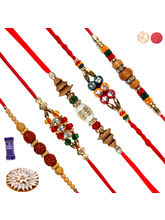 Siddhi Sales Rakhi Sweet Gift Hamper For Brother -...