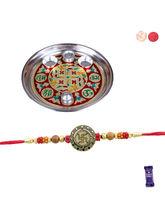 Siddhi Sales Rakhi Thali Gift Hamper, Rakhi With T...