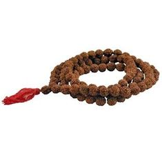 Rosary, brown