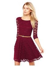 Saiyaji Suits Exclusive Designer Dress (D-20), maroon, xxl