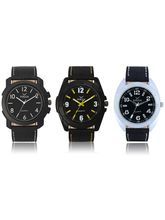 Volga Designer Stylish Men's Watch Combo Pack (VL-W05-14-17-31)