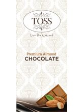 Toss Almond Milk Chocolate Bar-47Gms Pack Of 6 (TC...