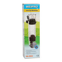 Weipro SA 2003 Internal Skimmer - With Pump