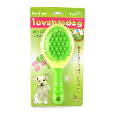 Easypets COATMaster Dog Grooming Hair Brush (Large) (Green)