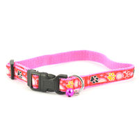 Easypets STELLAR Dog Colar with Bell (Pink)