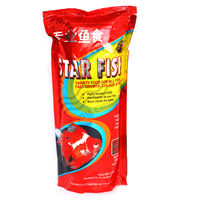 Star Fish - Fish Food (200 Grams) (Pack of 2) , 1 mm, 1 mm