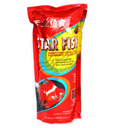 Star Fish - Fish Food (200 Grams) (Pack of 2) , 1 mm, 1 mm