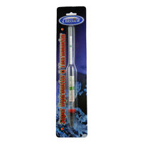 CLASSICA Water Test Hydrometer & Thermometer