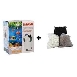 SunSun HW 304B External filter Canister Filter Outside Filter With Media
