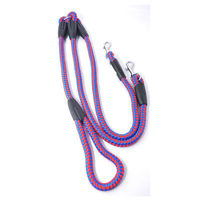 Easypets TWINDOG 2in1 Dog Leash Extra (Large) (Red)