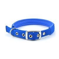 Easypets COMFORTFIT Dog Collar (Medium) (Blue)