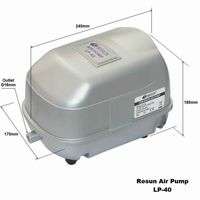 Resun LP low noise air pump LP 40