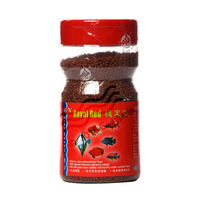 Ocean Free Royal Red Fish Food (110 Grams) , 1 mm, 1 mm