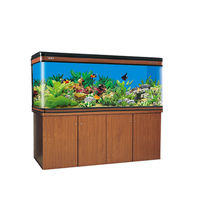 Boyu Large Aquarium Fish Tank LZ 1800, tank with cabinet