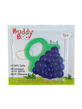 Buddyboo Silicone Fruit Shape Teether - Purple (143015)