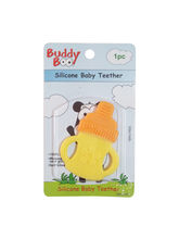 Buddyboo Bottle Shaped Silicone Baby Teether - Yellow (143016)