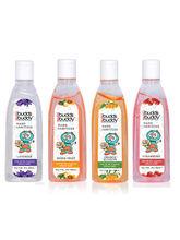 Buddsbuddy Combo of 4 Hand sanitizer 50ml Each- Multi Flavour