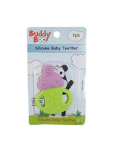 Buddyboo Bottle Shaped Silicone Baby Teether - Green (143017)