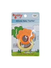 Buddyboo Flower Shaped Silicone Baby Teether - Yellow (143022)