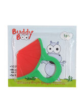Buddyboo Silicone Fruit Shape Teether - Red (143013)
