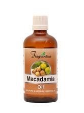 Fragrantica Macadamia Oil 100% Pure And Natural Oil, 10 ml