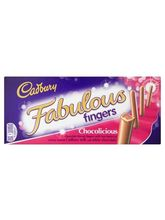 Cadbury Fabulous Fingers Chocolicious Biscuits Imported