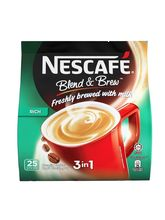 Nescafe 3 In 1 Blend & Brew Rich Premix Coffee, 25 Sticks