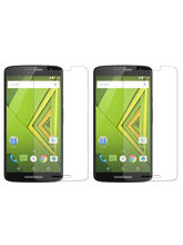 Midkart Clear Tempered Glass Screen Guard Protector Shatter Proof for Motorola Moto X Play