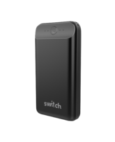 SWITCH POWERPACK GO MAX 20, 000 USB & TYPE-C PD18W POWER BANK,  black
