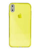 PURO IPHONE X BACK CASE,  yellow