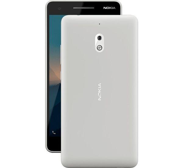 NOKIA 2 1 8GB 4G DUAL SIM, light grey silver