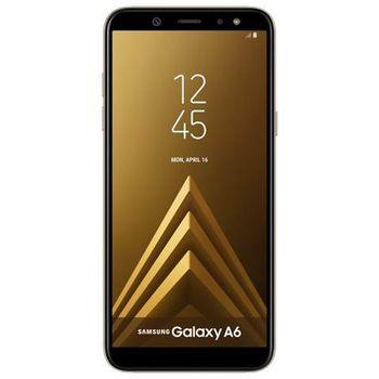 SAMSUNG GALAXY A6 A600F 64GB 4G DUAL SIM,  gold