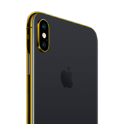 24K GOLD PLATED APPLE IPHONE XS,  space gray, 512gb