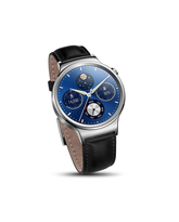 HUAWEI W1 SMARTWATCH LEATHER STRAP WITH METAL FACE